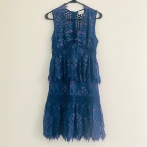 Anthropologie Foxiedox Florence Lace Dress Small